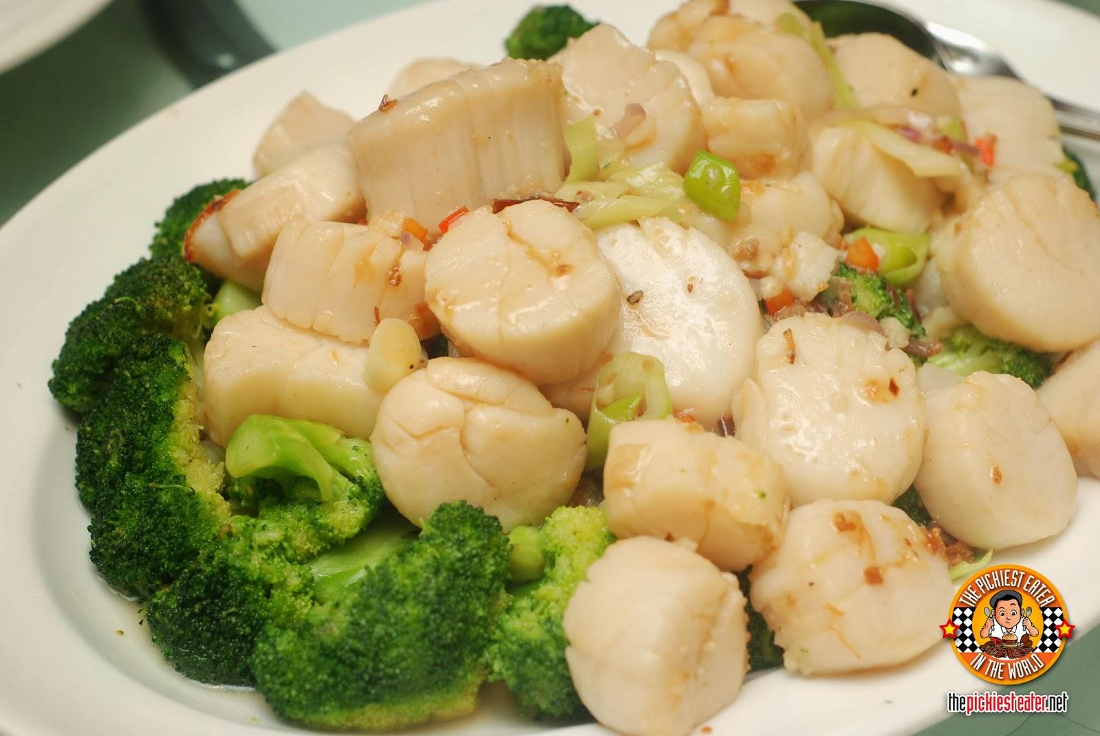 Yee Sang Shang Palace Makati Shang scallops