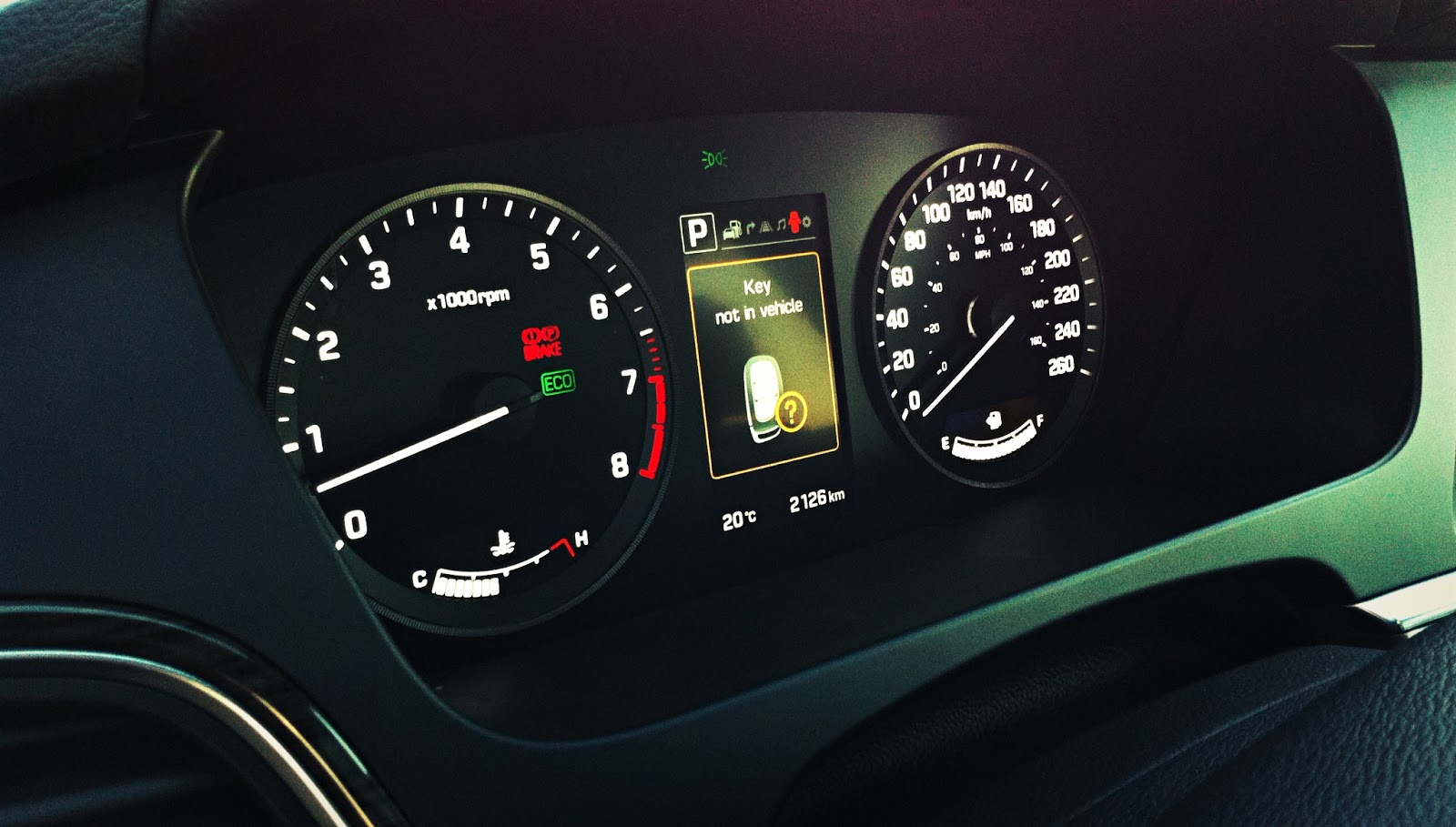 2015 Hyundai Sonata gauge cluster