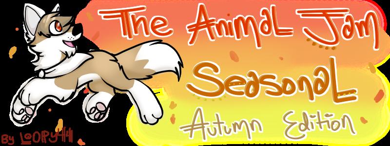 The Animal Jam Seasonal-Autumn Edition