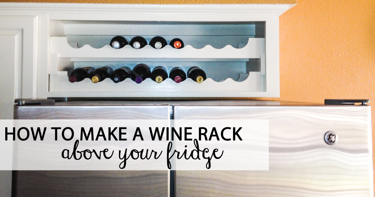 sokolewicz family how to make a wine rack above the fridge. Black Bedroom Furniture Sets. Home Design Ideas