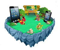 imagen de jugar dragon city en ipop ipad iphone