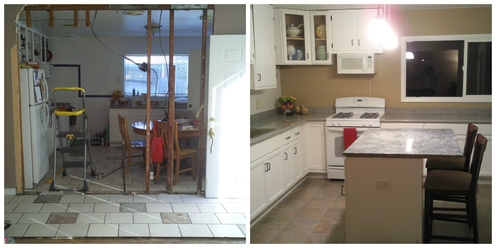 House remodel before and after for Before and after home remodel