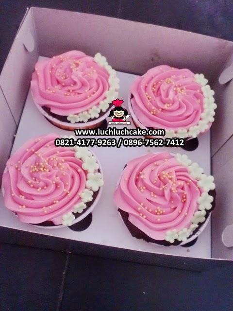 Cupcake Buttercream Bunga Daerah Surabaya - Sidoarjo