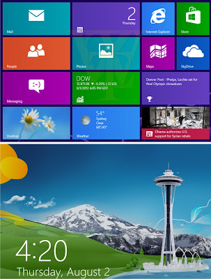 Windows 8 pc cover