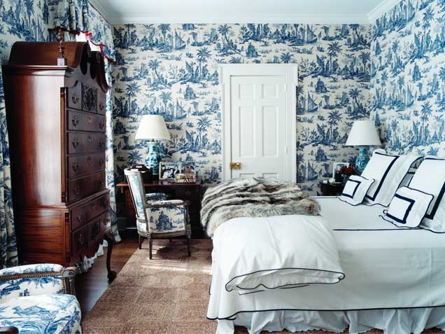 Blue And White Toile Bedroom: My Red Herring: Blue And White China: The Inspiration