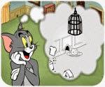 Tom đặt bẫy Jerry, game hoat hinh