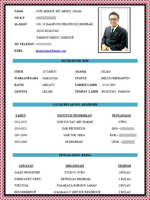 contoh resume 3