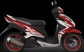 Yamaha New Xeon RC Warna Merah (Victorious Red)