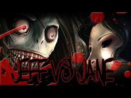 Jeff the Killer vs Jane the Killer