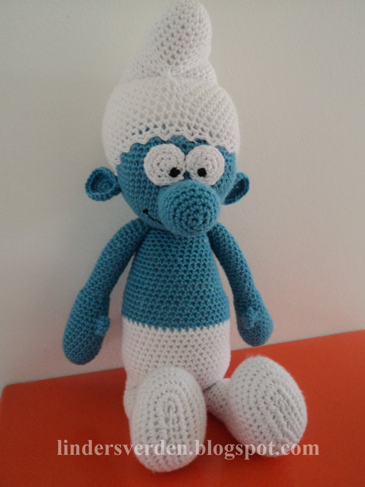 Amigurumi free pattern smurf kalulu for busters mors verden hklet smlf free pattern bankloansurffo Image collections