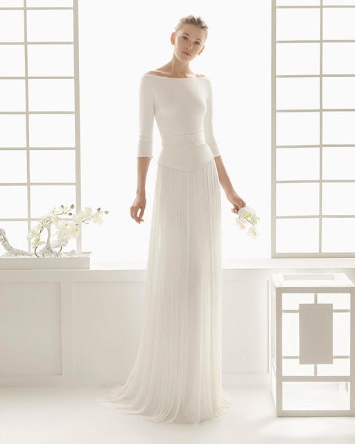 10 vestidos de otoño-invierno 2016 de rosa clará - blog mi boda