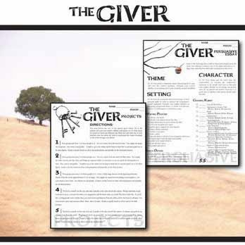 The giver essay prompts