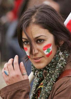 Wanita Cantik Libanon