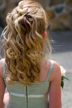 Bucles, Peinados para Niñas