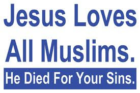 Jesus wants Muslims to repent and follow Him as God