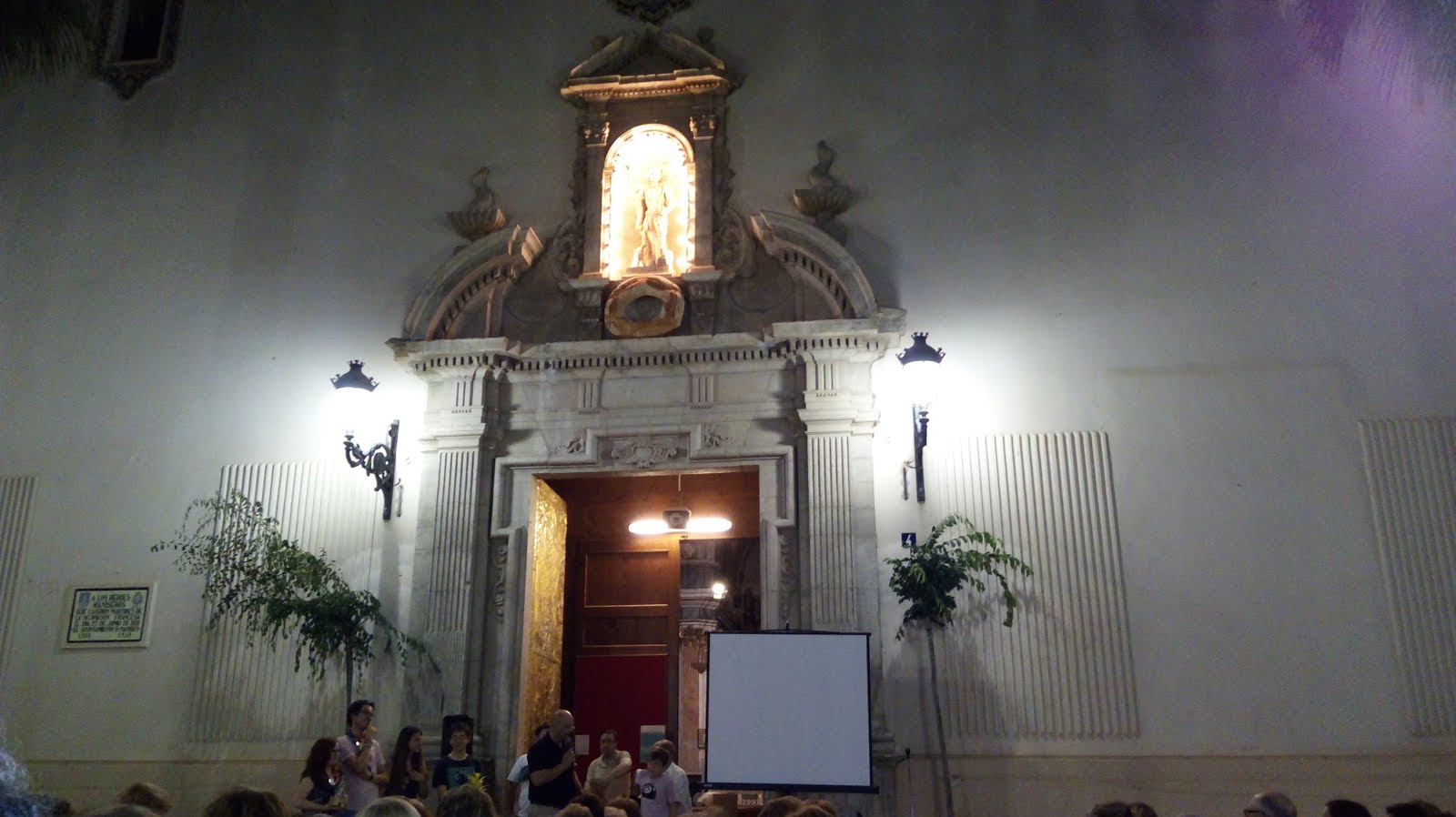 23.06.17 FESTA A SANT JOAN, SOPAR EN LA PARROQUIA DE SANT JOAN BATISTE