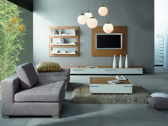 Modern Living Room Furniture 554 x 416