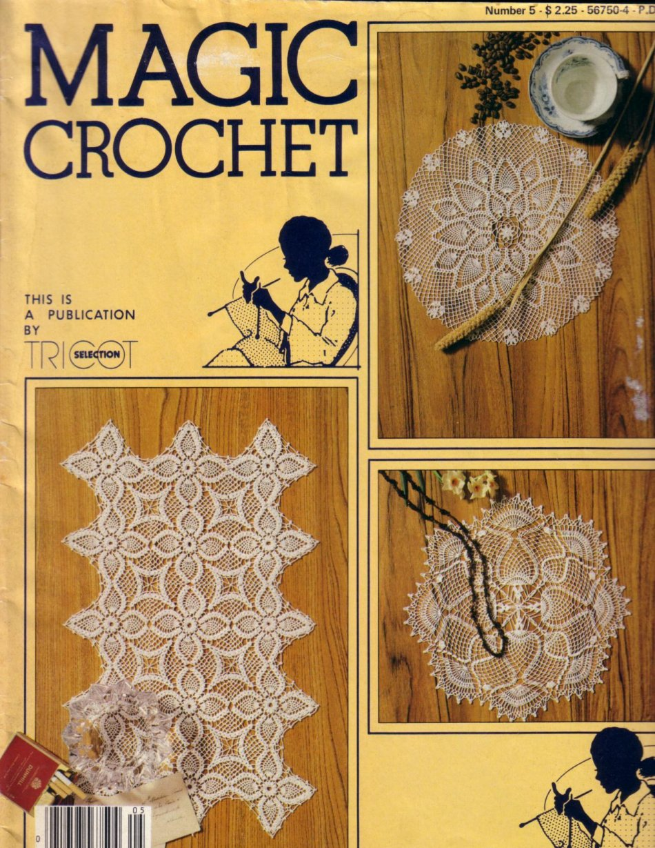 Magic Crochet No. 5 ~ Free Crochet Patterns