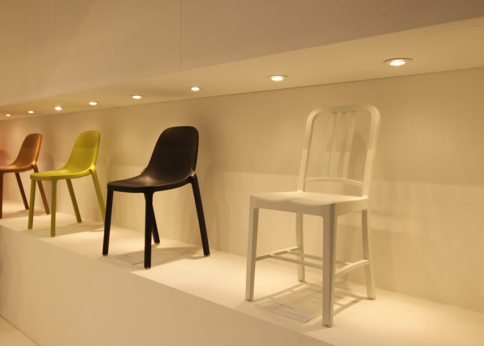 Broom chair for emeco in 2012 to showcase the properties of a new wood - Dwell On Design 2013 Chairs Emeco