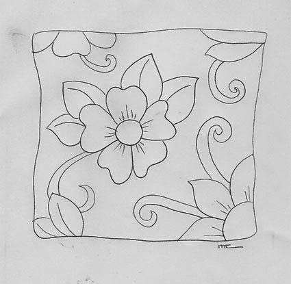 Pintura en tela almohadones con flores todo pintura en tela - Dibujos para pintar en tela infantiles ...