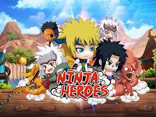 Trik Mendapatkan Banyak Gold Gratis Ninja Heroes Aman
