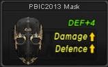 Spesifikasi Mask PBIC 2013