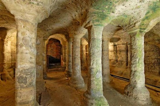 The underground caves of Nottingham