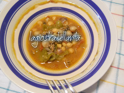 zuppa di ceci e seppie