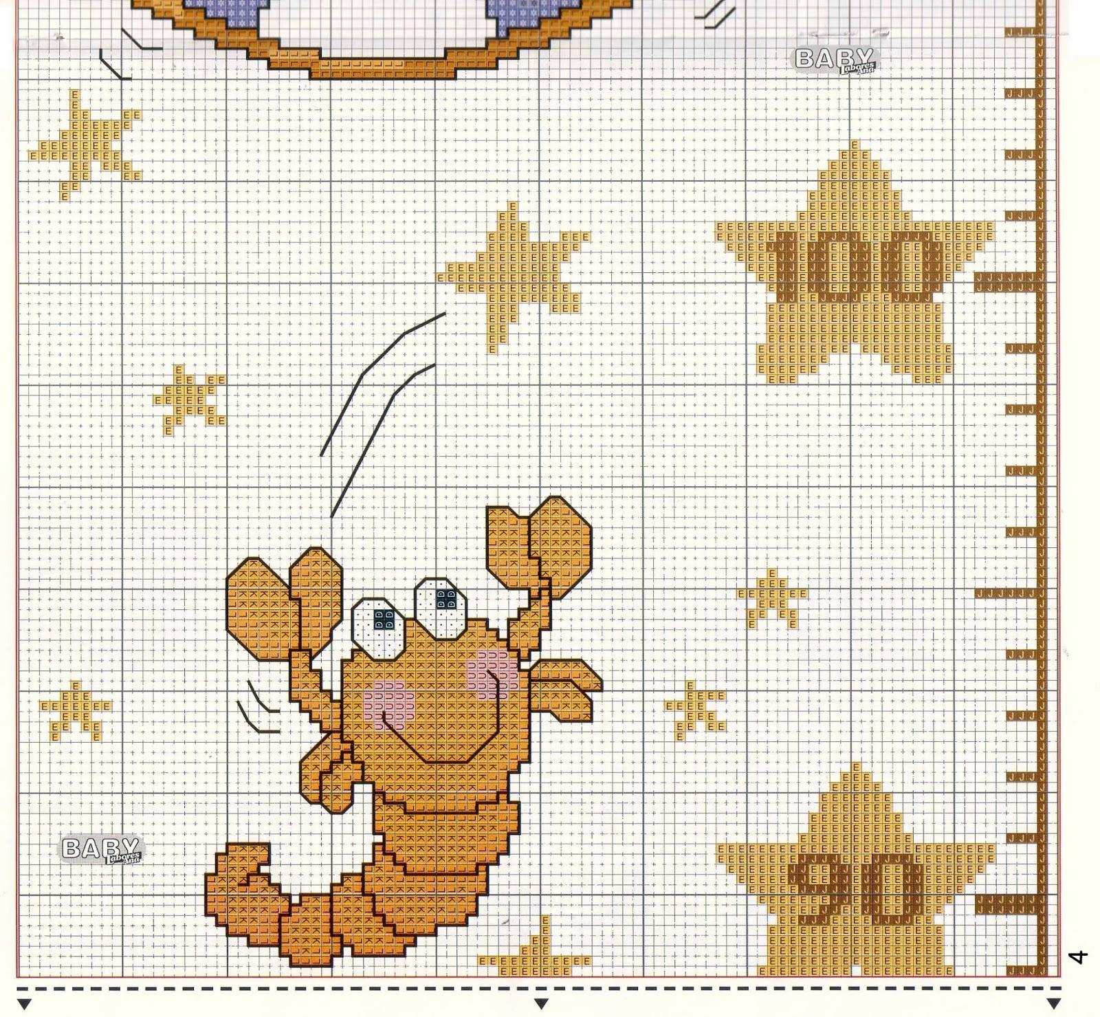 Схемы для вышивания крестиком звезда