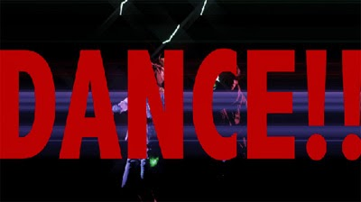 DANCE!! in large red letters over Maya and Aiji raving.