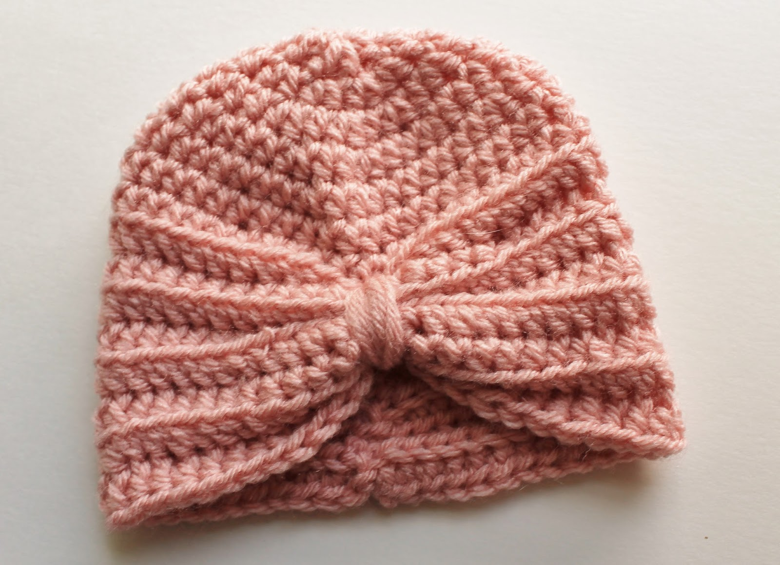 kozy & co: Crochet Baby Turban Pattern