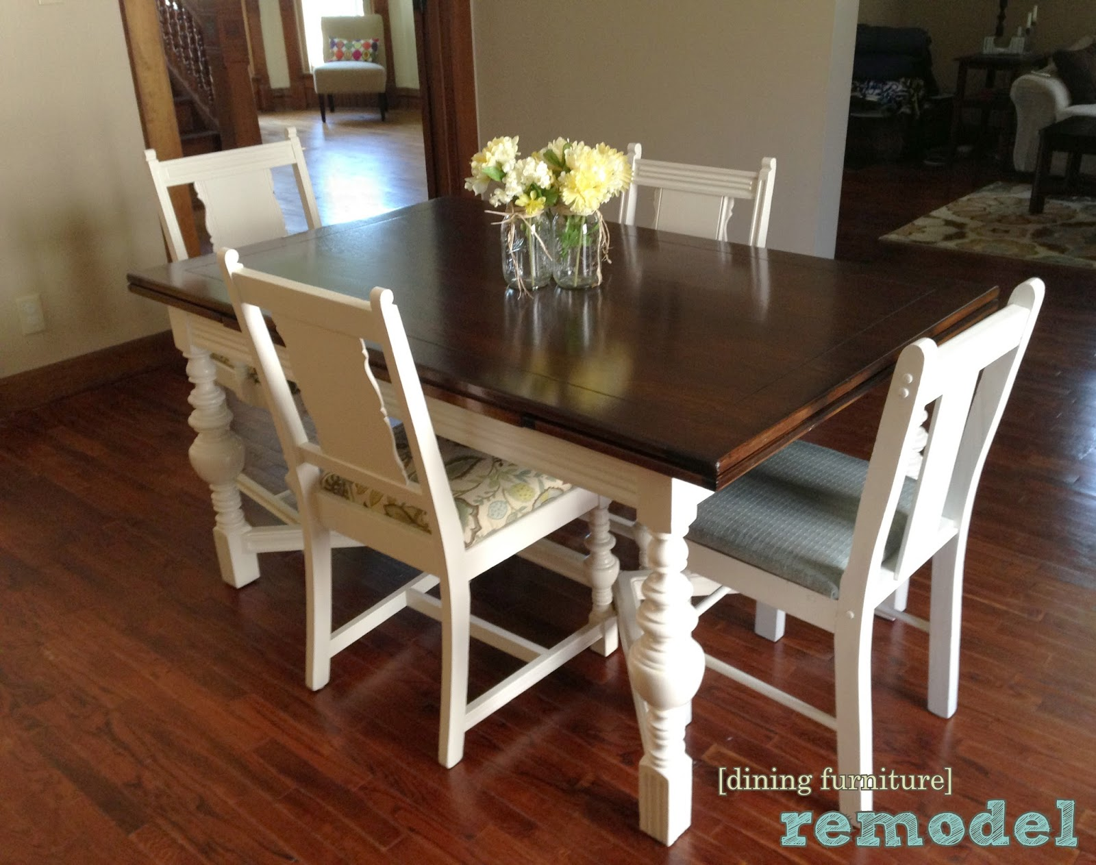 The Copper Coconut Dining Table And Chairs Redo