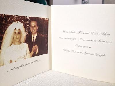 Vanda Giuliano 50 Anni Insieme Siete Invitati Al Nostro 50