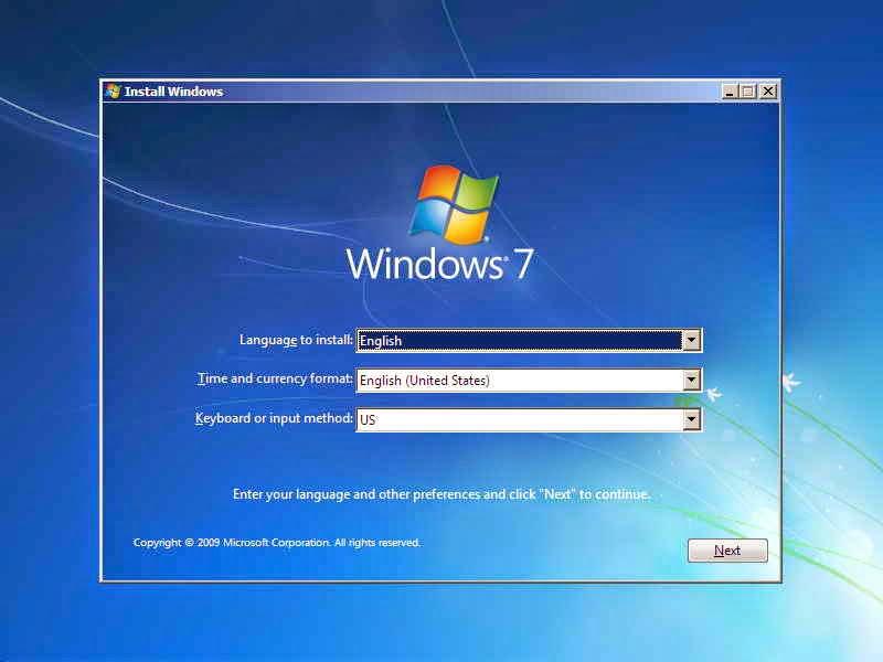 Cara instal komputer windows dengan mudah