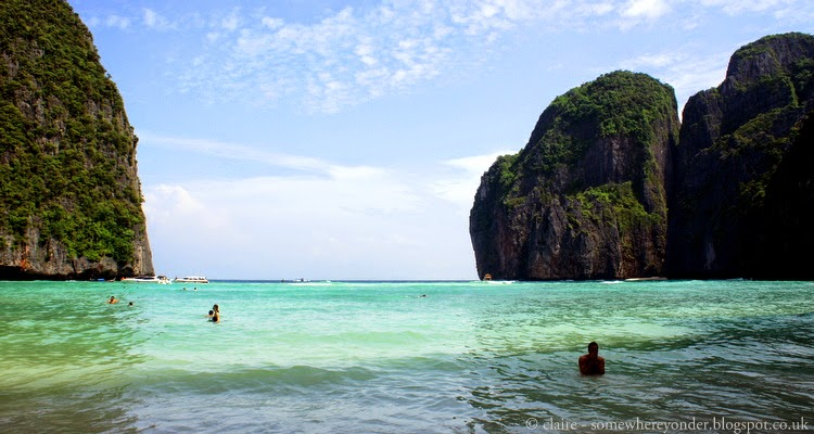 Maya Bay Thailand, aka The Beach