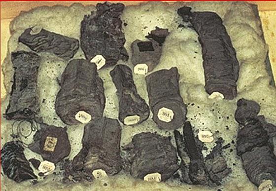 Os pergaminhos de Herculano