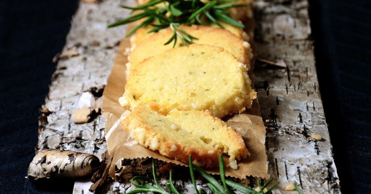 Rosmarinkekse mit Olivenöl und Orange - Rosemary cookies with olive oil and orange
