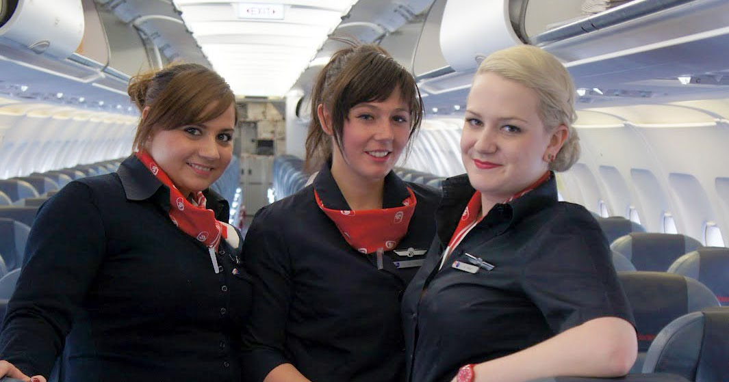 air berlin stewardesses take you to the seat world stewardess crews. Black Bedroom Furniture Sets. Home Design Ideas