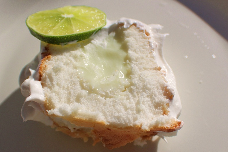 What's Cookin' Italian Style Cuisine: Angel Food Key Lime Cream Cake