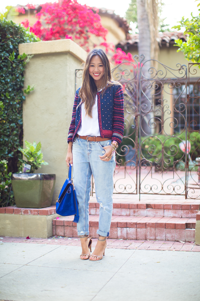 Tapered Boyfriend Jeans   Song of Style
