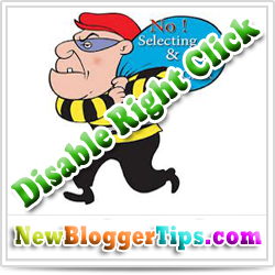 How to Disable Right Click To Stop Copying Your Content ?