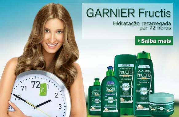Amostra Gratis Shampoo e condicionador Garnier Fructis 72 horas