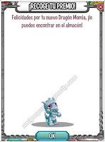 imagen del dragon momia pequeño