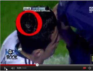Foto dan Video Lafal Allah di Kepala Ronaldo