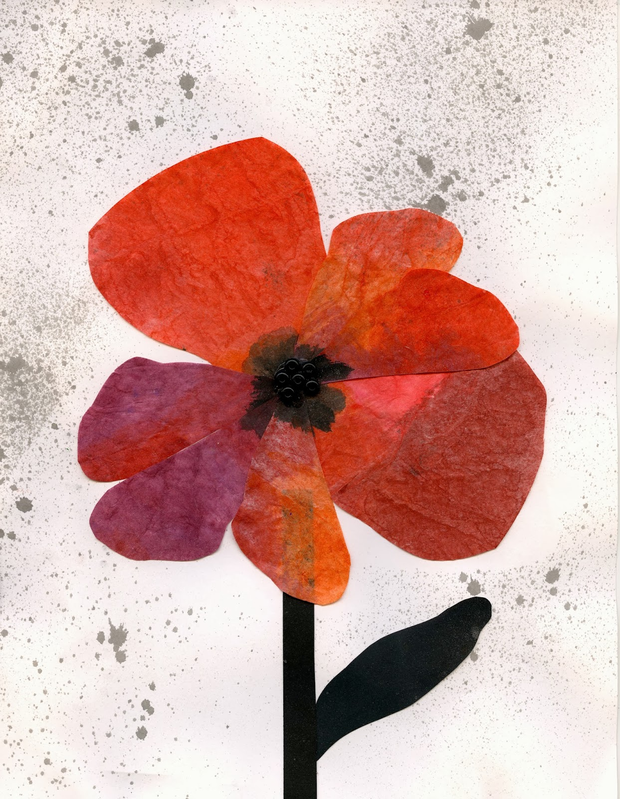 that artist woman poppy art for remembrance day