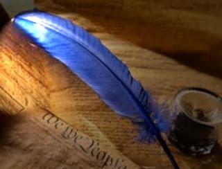 pluma poeta poesía