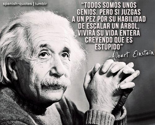 Todos somos unos genios