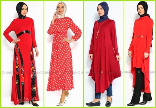 kırmızı renk trendleri