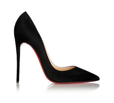 Christian Louboutin So Kate Pumps in black suede