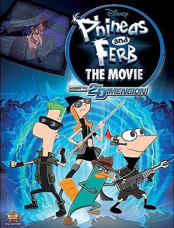 Phineas e Ferb – O Filme – Através da 2ª Dimensão – Dublado – Filme Online